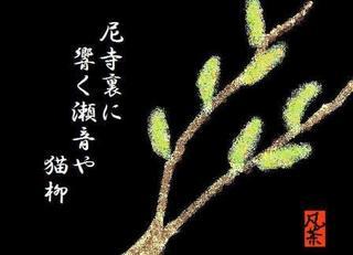 17春の季語・植物・猫柳【俳句とイラスト】.jpg