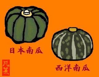 37秋の季語・植物・南瓜(かぼちゃ).jpg