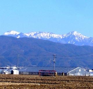 43冬の季語・地理・雪嶺(八ヶ岳連峰).JPG