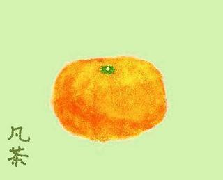 47冬の季語・植物・蜜柑(みかん)【イラスト】.jpg